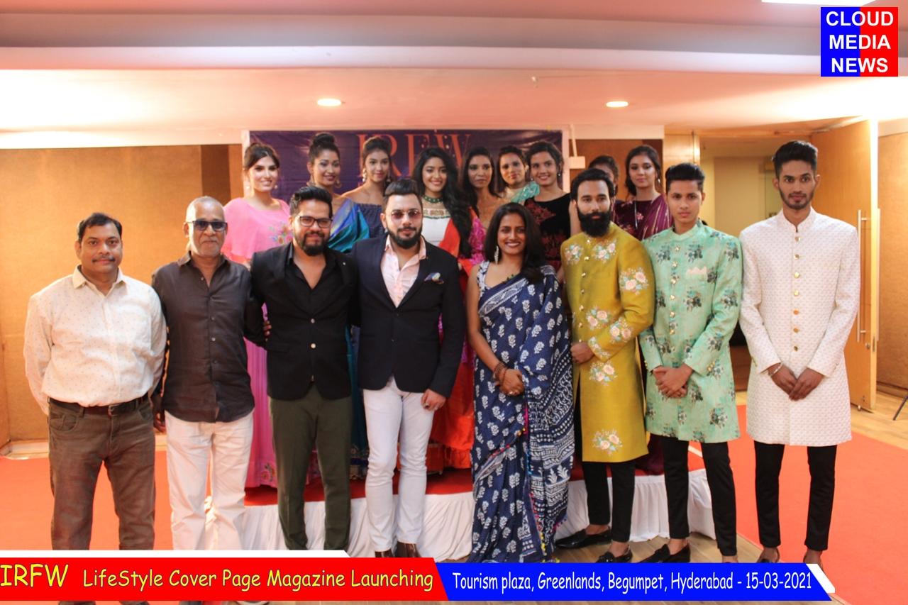 IRFW The Curtain raising of Mr. & Ms. India International Runway Model, Season 2, 2021.